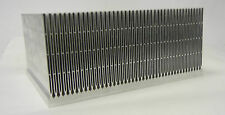 "NEW! LARGE EXTRUDED ALUMINUM HEATSINK 11.75 x 8.875 x 5.25""H TESLA COIL IGBT's"
