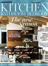 ESSENTIAL KITCHEN BATHROOM BEDROOM #217 May 2014 DONNA HAY Wooden Stools @NEW@