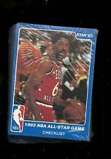 1983 Star Company NBA All Star Game Factory Sealed Basketball Set   Larry Bird