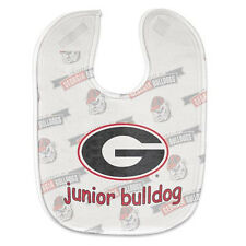 Georgia Bulldogs Baby Bib - Full Color Mesh [NEW] NCAA Infant Newborn CDG