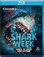 New: SHARK WEEK - Jaws Of Steel Collection [2-Disc Set] Blu-ray