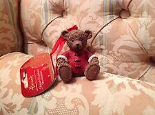 HARRODS Natale 2013 in resina Teddy Sebastian NUOVO CON ETICHETTA