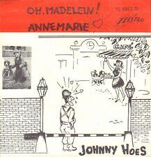 "JOHNNY HOES – OH, MADELEIN ! (1963 TELSTAR VINYL SINGLE 7"")"