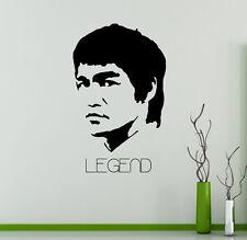 Bruce Lee Wall Vinyl Decal Film Actor Vinyl Sticker Martial Artist Home Decor 14