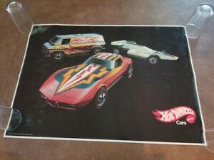 Mattel Hot Wheels Redline Vintage Two (2) Cars and Van 1970's (1975) Poster