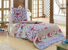 Geblümte Bettwäschegarnituren mit Reißverschluss aus 100% Baumwolle