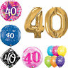 40 ANNI - Felice 40th compleanno qualatex palloncini{ ELIO palloncini festa