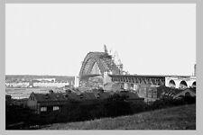 SYDNEY Harbour Bridge Construct 7th of 7 views Roadway complete modern Postcard