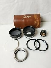 Kaligar Wide Angle and Telephoto Supplemental Lens Set With Viewfinder