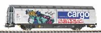 Piko 58966 HO Gauge Expert SBB Cargo Habinns Sliding Wall Van Graffitied VI
