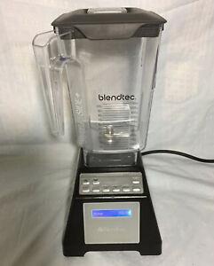BlendTec Total Blender Model ES3 Black with WildSide+ Jar BPA-Free