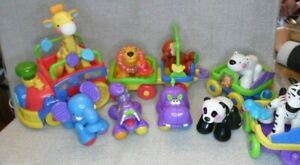 Fisher-Price Amazing Animals Sing and Go Choo Choo Train with Animals