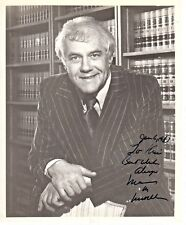 Marvin Mitchelson Lawyer Palimony Autograph Hand Signed 8x10 Photo & Letter