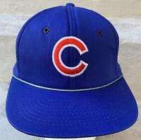 Chicago Cubs Vintage Hat Snapback Mesh Trucker Cap MLB Baseball 90s Budweiser
