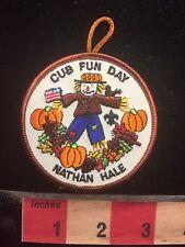Nathan Hale Cub Fun Day HALLOWEEN PUMPKIN SCARECROW Boy Scout Patch 70WI