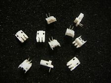 AMP 2mm CT Connector Post Header Assembly 2-Pin R/A **NEW** 10/PKG