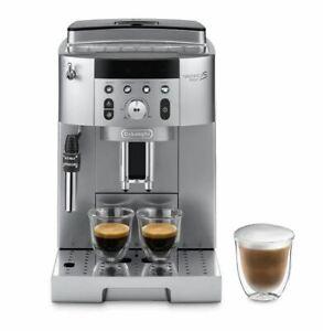 DE'LONGHI Kaffeevollautomat ECAM 250.31.SB Kegelmahlwerk Milchschaumdüse silber