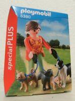 Playmobil special PLUS Hundesitterin 5380 Neu & OVP Hunde Hund Hundeleine