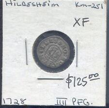 HILDESHEIM - BEAUTIFUL BILLON 4 PFENNIG, 1728