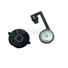 Home Back Menu Button Key With Repair Part Flex Cable For iphone 4S Black Hot