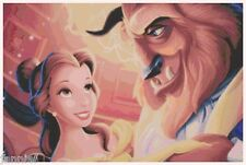 "Disney's ""Beauty and the Beast"" Cross Stitch Pattern CD Fantasy"
