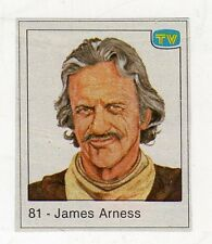 figurina - TV SORRISI E CANZONI - numero 81 JAMES ARNESS