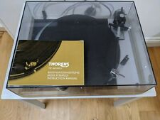 Thorens TD160 MKII. Black. With Ortofon VMS 30 cartridge and spare needle.