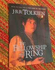 NOS Vintage 2000 J.R.R. TOLKIEN The Fellowship Of The Ring ELIJAH WOOD POSTCARD