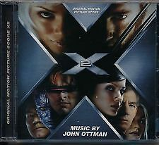 X 2 soundtrack CD NEW AND SEALED