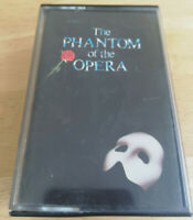 The Phantom of The Opera Original London Cast UK Audio Cassette Double Tape