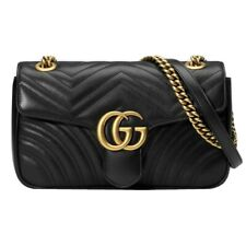 [Original]Gucci GG Marmont Small Matelasse Shoulder Bag