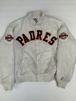 Vintage Swingster Padres Jacket White Size Large