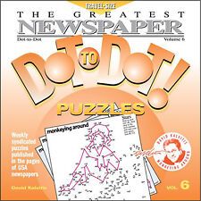 The Greatest Newspaper Dot-to-Dot Puzzles, Vol. 6