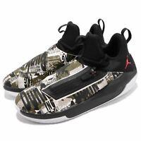 Nike Jordan Jumpman Hustle Men's Basketball Shoes Black/Olive AQ0397 003 sz 8-13