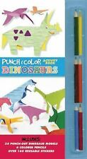 Punch and Color: Dinosaurs by Inkyeong Kim-Bol (English) Hardcover Book