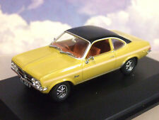 GREAT OXFORD DIECAST 1/43 1971-75 VAUXHALL FIRENZA SPORT SL SUNSPOT YELLOW VF004