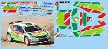 SKODA FABIA R5 BARBOSA-RAMALHO RALLY PORTOGALLO  2017 DECALS 1/43