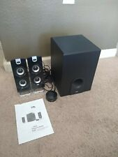 Cyber Acoustics CA-3602FFP 2.1 Speaker Sound System with Subwoofer & Control Pad
