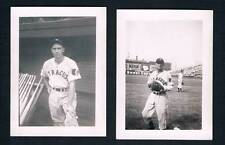 2 Original International League Syracuse Chiefs Baseball Club Photos