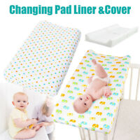 Infant Baby Changing Mat Cover Diaper Nappy Change Pad Waterproof Cotton 80cm