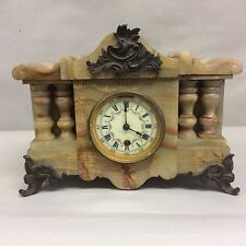 Onyx Mantel Clock Boston Clock Co.