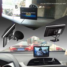 "5.0"" Car Monitor TFT LCD 2 Way Video Input Rear View Backup Reverse Camera DVD"