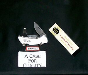 "Case XX M1057 Lockback Knife 9 Dot 2-1/2"" Closed Circa-1981 W/Packaging,Papers"