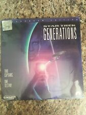 LaserDisc Star Trek Generations Sealed