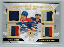 14-15 Ultimate Collection Ryan Nugent-Hopkins, Eberle Memorable Materials Patch
