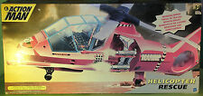 Rare Original Action Man Helicopter Rescue Vehicle MIB 2000