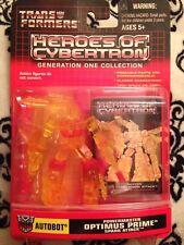 transformers heroes of cybertron spark attack Optimus Prime powermaster