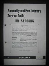 SUZUKI DR-Z400SK5 Assembly Pre Delivery Service Guide 99505-01055-03E Manual