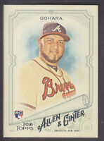 Topps - Allen & Ginter 2018 - Base # 63 Luiz Gohara - Atlanta Braves RC
