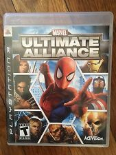 Marvel: Ultimate Alliance (Sony PlayStation 3, 2006) Complete